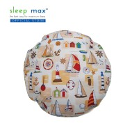 Sleep Max Floor Cushion Mini/Bantal Lantai Mini 45x45 Cm-Kapal Cream