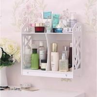 Rak Kosmetik Meja Rias Rak Dinding Organizer Cosmetic Box Organizer