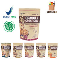 Hundred Seeds Granola Creations / Healthy Granola 400gr HALAL