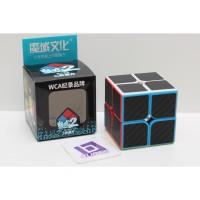 Rubik 2x2 Moyu MF Meilong 2x2 Carbon Original