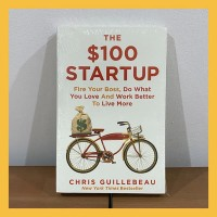 Buku Import The $100 Startup by Chris Guillebeau (Original Paperback)