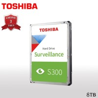 Toshiba S300 Hardisk / HDD Surveillance 8TB SATA III 7200RPM