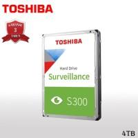 Toshiba S300 Hardisk / HDD Surveillance 4TB SATA III 5400RPM