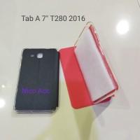 Samsung Galaxy Tablet Tab A 7 inchi T280 2016 Ume Sarung Flip Case