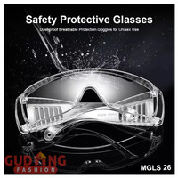 Kacamata APD Transparant Kekinian Anti Corona (MGLS)