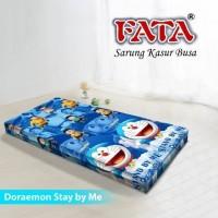 Sarung Kasur Busa Resleting 120 x 200 T.15cm Single FATA - DORAEMON