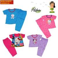Baju Tidur Anak Perempuan 1-6 Tahun MOTIF dan WARNA ACAK/RANDOM CP DK