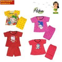 Baju Setelan Anak Perempuan MOTIF & WARNA ACAK/RANDOM usia 2-6thn NK