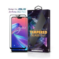 Tempered Glass Asus Zenfone Max Pro M2 Full Cover Black - Glass Pro