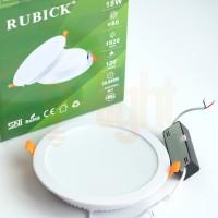 Downlight Panel LED 18 Watt Rubick SNI Mirip Philips