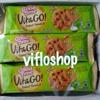 Biskuit Sereal Good Time VitaGo! (Box isi 12 sachet)