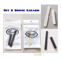 bridge saddle nut gitar klasik saddle nut bridge gitar classic nylon