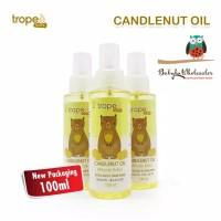 tropee bebe candlenut oil / minyak kemiri kukui oil