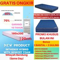 Kasur Matras Inthebox / In The Box Hybrid Memory Foam 160x200 (Queen)