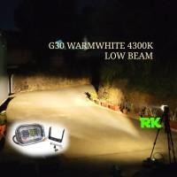 WARMWHITE LAMPU SOROT MOTOR LED HI LOW | LAMPU TEMBAK MOTOR MT25 G30