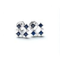 Lino and Sons - Anting Berlian F VVS ( Seaquare Diamond Earring)
