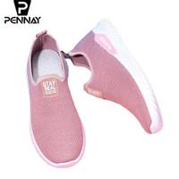 Pennay Sepatu Slip On Wanita Y-1 Import Termurah - Hitam, 37