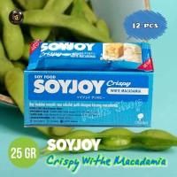SOYJOY Crispy White Macadamia - 25 gr (Harga Pack)