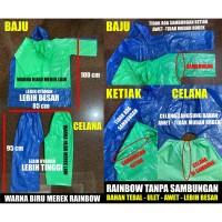 Jas Hujan Plastik Baju + Celana - Harga Murah