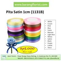 Pita Satin 1cm (1131B), aksesoris toko bunga