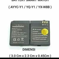 Baterai Original Smartwatch YX-W813 YX W8B Y1 Pro Y1 Plus T11