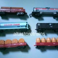 Miniatur Kereta api railking set 1