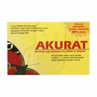 AKURAT TEST PACK STRIP