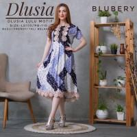 Daster Arab Tunik Lulu Motif by Dlusia Original / Baju Wanita