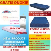 Matras Kasur Inthebox / In The Box Hybrid Memory Foam 180x200 (King)