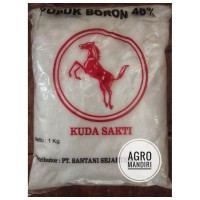 Pupuk Mikro Borate - Boron 48% 1 Kg Cap Kuda Sakti