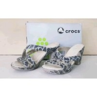 Sandal Crocs Heels - USA - Size 36 sd 37 - Original 100% Second X