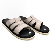 Sandal pria kulit asli termurah sandal kulit model selop SD kulit asli