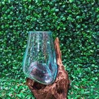 Aquarium akar/kayu diameter 12cm