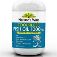 Natures Way FISH OIL 1000MG ODOURLESS isi 200softgel