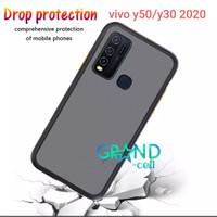 VIVO Y50/Y30 2020 Case Matte Premium Quality COVER Bumper Aero casing