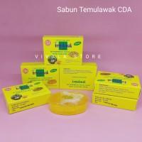 12 Pcs Sabun Temulawak CDA Original BPOM Facial Wash