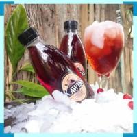 Soft drink rasa buah kawis per 1 krat isi 24pcs