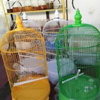 kandang/sangkar burung besi ukuran besar