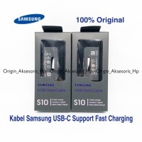 Kabel Charger Samsung S10 S10 Plus S10 E S9+ S8+ Tipe C Fast Charging