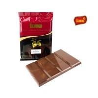 SCHOKO Milk Chocolate Couverture Blok / Packing 1Kg / Coklat Batangan