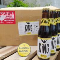 KiNG Coffee Beer 1 Dus / 1 Krat / isi 24 Botol 330ml