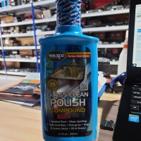 GLASS CLEAN POLISH COMPOUND NANO TECH MERK WAXCO