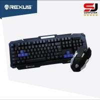 Keyboard Mouse Wireless Rexus Warfaction VR2