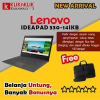 LENOVO IDEAPAD 330-14IKB-I3-7020U-4GB-1TB-R530-14INCH-WIN10-ONYX-BLACK