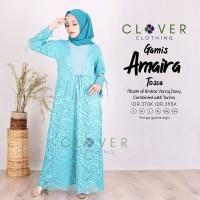 Baju Gamis Wanita Amaira by Clover Clothing Size Jumbo