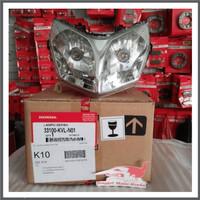 Lampu Depan Reflektor ASSY Supra X 125 Ori AHM 33100KVLN01