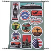 Tcid Stiker Decal Gaya Retro Untuk Laptop Macbook