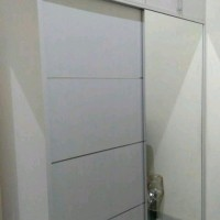 lemari pakaian sliding 180 plus kabinet sparepart