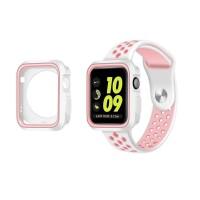 Strap Silikon Pengganti untuk Apple Watch 42mm 38mm