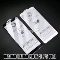 XIAOMI REDMI NOTE 5 PRO PREMIUM TEMPERED GLASS WARNA 5D SCREEN PR